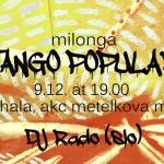 Milonga popular cover december new